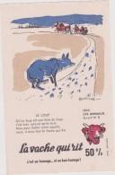 JL : Buvard : La  Vache  Qui  Rit :  Le  Loup  ( Illustrateur  Beuville ) - Sin Clasificación