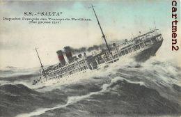 LE SS. SALTA PAQUEBOT DES TRANSPORTS MARITIMES BATEAU BOAT - Steamers