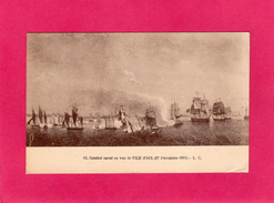 17 CHARENTE-MARITIME, Combat Naval En Vue De L'ILE D'AIX, (1811), (L. C.) - Other Municipalities