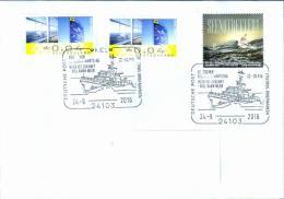 Deutschland SSt. Kiel 'Seenotrettungskreuzer Berlin' / Germany Pmk. 'Rescue Lifeboat Berlin' 2016 - [7] Federal Republic