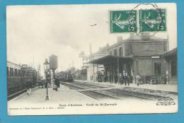 CPA - Chemin De Fer - Arrivée Du Train En Gare De ACHERES - Forêt De St Germain ACHERES 78 - Acheres