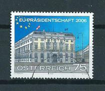 2006 Austria European Union Used/gebruikt/oblitere - 1945-.... 2de Republiek