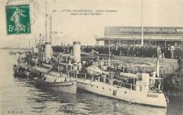 LA PALLICE-ROCHELLE - Contre Torpilleur Devant La Gare Maritime. - Guerre