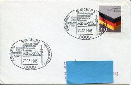 15177 Germany, Special Postmark 1985 Munchen  Davis Cup Finale  Germany Vs Sweden - Tennis
