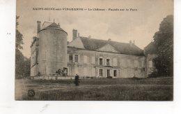 SAINT SEINE SUR VINGEANNE Le Chateau  Facade Sur Le Parc - France