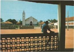 T117 Guinea Bissau - Igreja Catolica Do Bairro D'Ajuda / Non Viaggiata - Guinea Bissau