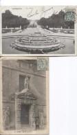 France 2 CP Versailles&Rouen C.Lieury & Paris V.Jumet Griffe Rebut PR3561 - Marcophilie (Lettres)