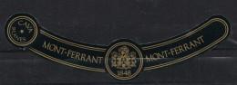 Etiqueta Champan, Cava MONT FERRANT , Blanes (gerona), Etiqueta Cuello - Champan