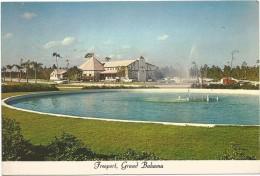 T122 Grand Bahama - Freeport - Ranfurly Circus And Pub On The Mall / Non Viaggiata - Bahamas