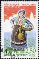 Oblitération Cachet à Date Sur Timbre De France N° 2979 Santon De Provence - Personnage De 95 - La Poissonnière - Frankreich