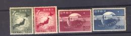 Japon  :  Yv  429-32  * - Nuevos