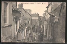 CPA SAINT VALERY SUR SOMME // Rue Des Marins - Saint Valery Sur Somme