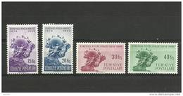 Turkey; 1949 75th Anniv. Of UPU - 1921-... Republik