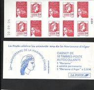 Carnet Mixte Marianne De Luquet Et Alger  Livraison Gratuite - 1997-04 Marianne (14. Juli)