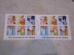 1998 - Carnet Journées De La Lettre - Neuf ** - Gedenkmarken