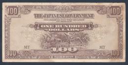 Malaisie 100 DOLLARS (1944) SEMBLE NEUF Non Plié - Malaysie