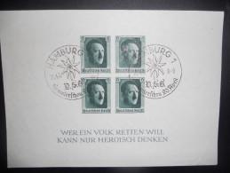 Allemagne Reich Bloc 9 Oblitere - Deutschland