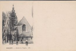 G , Cp , 29 , ROSCOFF , Abside De L'Église - Roscoff