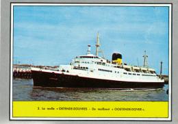 """Image (1958), BELGIQUE, Les Moyens De Transports : La Malle """"Ostende-Douvres"""", Editions Sablon - Ohne Zuordnung"""
