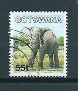 2002 Botswana 55t Elephant,olifant,wild Animals Used/gebruikt/oblitere - Botswana (1966-...)
