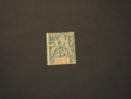 OBOCK - 1892 ALLEGORIA  15 C. - NUOVO(+) - Unused Stamps