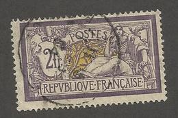 FRANCE - N°YT 122 OBLITERE - COTE YT : 90€ - 1900 - 1900-27 Merson