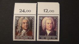 Germany - 1985 - Mi:1248-9 - Yt:1080-1**MNH - Look Scan - Unused Stamps