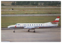 AIRPLANES - PROPELLER - JPB 003 - SWEARINGEN SA-226   Carte Postale - Flugzeuge