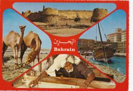 Bahrain- Greetings, Multi Views,  Old Photo Postcard - Bahrain