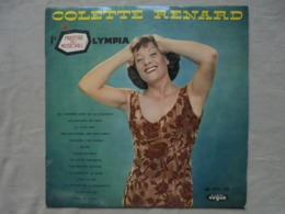 Disque Vinyle 33 T - COLETTE RENARD A L'OLYMPIA Orchestre Raymond LEGRAND - Vinyles