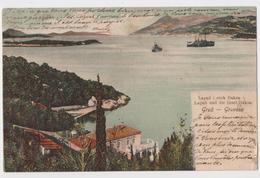CROATIA - GRUZ - GRAVOSA - LAPAD I OTOK DAKSA - Travelled 190? - VERLAG I. KULISIC, RAGUSA - Croazia