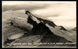7660 - Alte Foto Ansichtskarte - Matrei In Osttirol - Neue Prager Hütte Gegen Untersulbachtörl Anderä Lottersberger TOP - Matrei In Osttirol