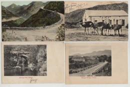 4 X MONTAGUE PASS BRIDGE,MALAGAS BRIDGE & OSTRICH FARM,GEORGE,SOUTH AFRICA,1907 - Südafrika