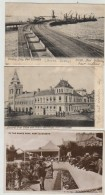 3 X LANDING JETTY,SNAKE PARK,POST OFFICE,PORT ELIZABETH,SOUTH AFRICA,c1905 - Südafrika