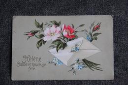 HELENE , Bonne Et Heureuse Fête. - Holidays & Celebrations