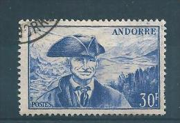 Andorre Francais Timbre De 1948/51  N°137  Oblitérés - Gebruikt