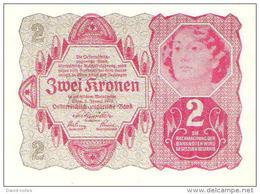 Austria - Pick 74 - 2 Kronen 1922 - AUnc - Austria