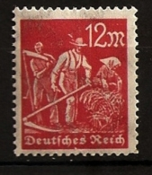 Allemagne Reich Weimar 1922 N° 177 Iso ** Paysan, Agriculture, Faux, Moisson, Blé, Pierre à Aiguiser, Travail Manuel - Germany