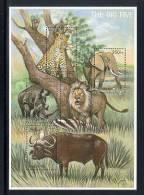 TANZANIA   2240 MINT NEVER HINGED MINI SHEET OF WILDLIFE & ANIMALS - Timbres