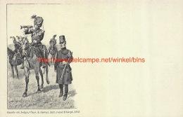 Garde Civique Belge. Chasseur à Cheval. 10 Septembre 1835 - Régiments