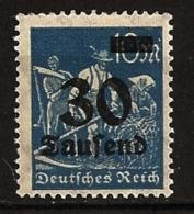 Allemagne Reich Weimar 1923 N° 260 Iso ** Paysan, Agriculture, Faux, Moisson, Blé, Pierre à Aiguiser, Travail Manuel - Germany
