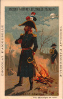 3 Chromos Chocolat - Aiguebelle - Anciens Costumes Militaires Francais - 5- R/V - Aiguebelle