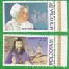 Moldova Moldavie Moldawien Moldau ;  2004 ;  Personalities  Medicine  Religion ; Set ; MNH - Moldova