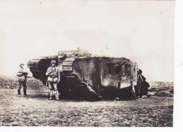 Tank Char Panzer  Carte  Photo Allemande - Weltkrieg 1914-18