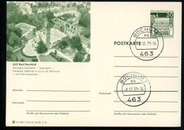 BUND P99 C18/142 Bild-Postkarte STIFTSRUINE BAD HERSFELD Stpl. 1970 - Klöster