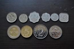 Sri Lanka / Ceylon Complete Sets Of Coins , 1 Set Of 10 Coins , UNC, Asia Coins. - Sri Lanka