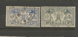 VENTE LOT  No  2 2 1 3 0       TIMBRES De COLLECTION  Nouvelles Hebrides Valeur Pounds 5 - France