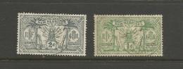 VENTE LOT  No  2 2 1 3 2       TIMBRES De COLLECTION  Nouvelles Hebrides Valeur Pounds 5 - France