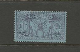 VENTE LOT  No  2 2 1 3 3       TIMBRES De COLLECTION  Nouvelles Hebrides Valeur Pounds 6 - France