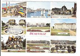 DEAUVILLE - PLAGE FLEURIE - MULTI VUES - Cabourg